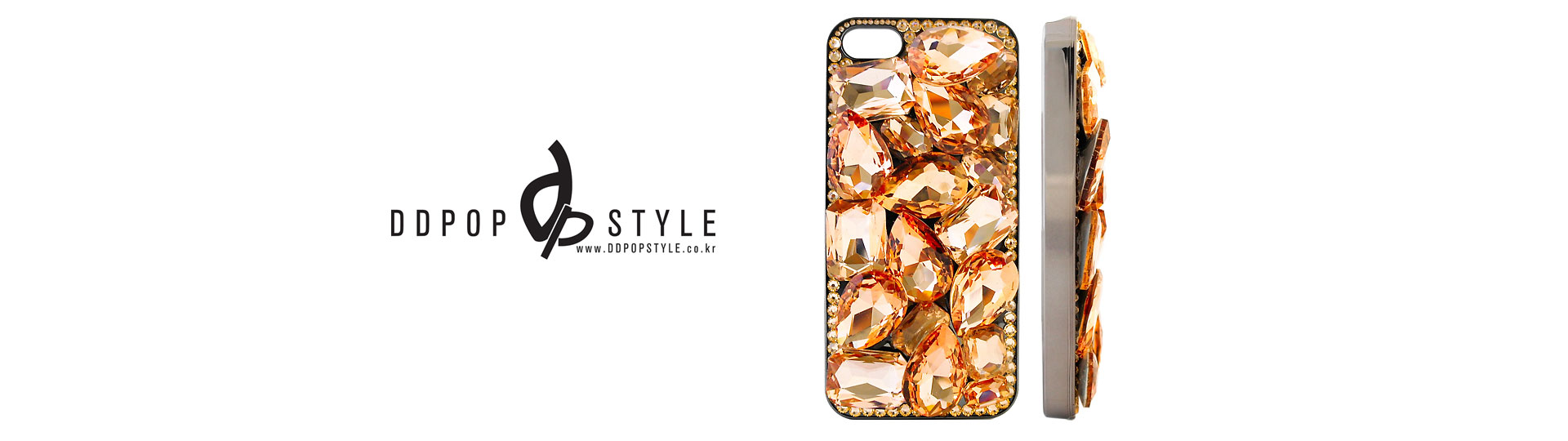watch 72446 a6960 Pink Gold | Crystal Phone Case Wholesaler in Korea - DDPOPSTYLE